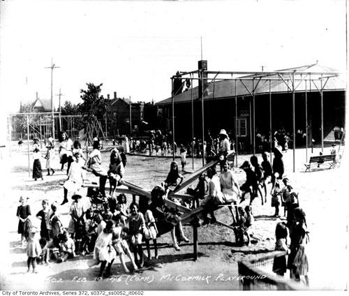 McCormick Park Playground 1916