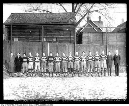 McCormick League Team, Playground and Intercity Champions 1927