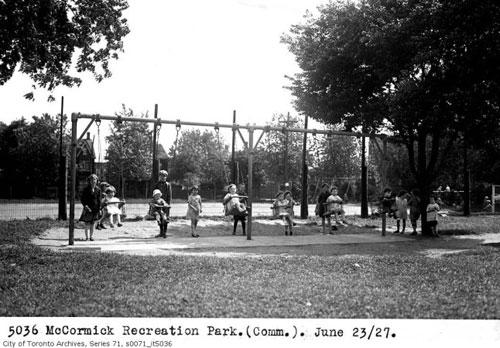 McCormick Park 1927