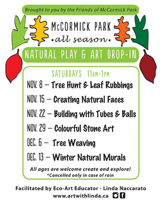 mccormick park art workshop
