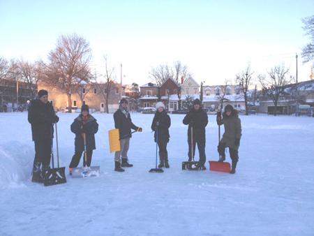 shovel brigade