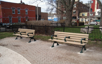new park benches