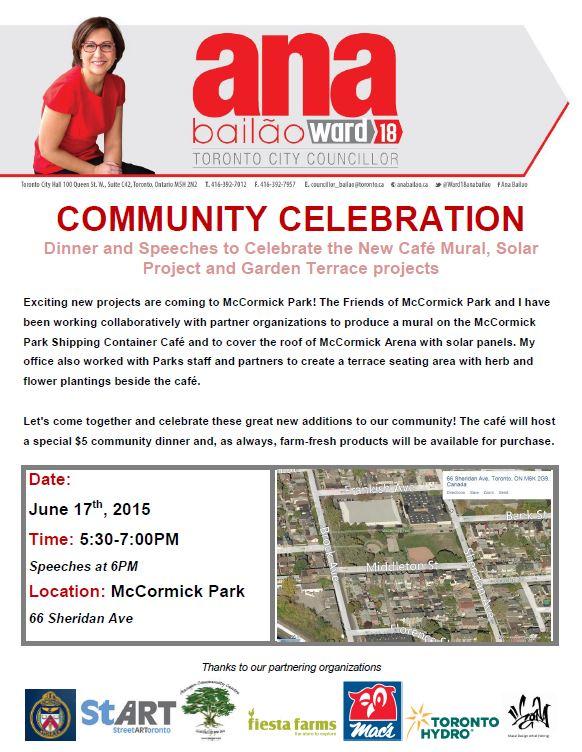 McCormick Community Celebration